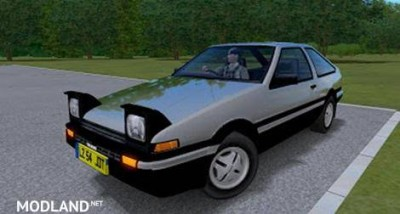 Toyota Corolla Trueno AE86 [1.3], 1 photo